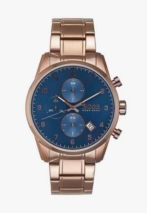 SKYMASTER - Chronograph watch - brown/blue
