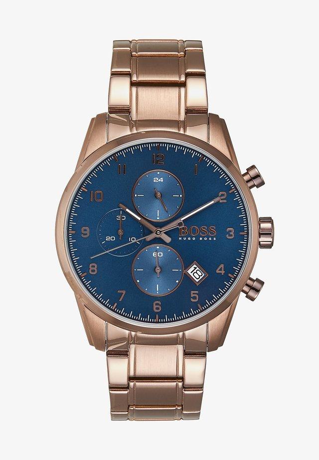 SKYMASTER - Cronógrafo - brown/blue