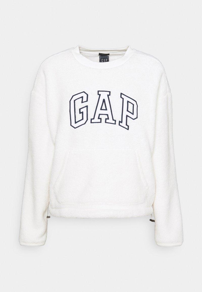 GAP - SHERPA - Fleece jumper - milk global