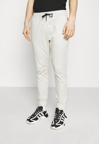 Hollister Co. - JOGGER CORE - Trousers - moonstruck grey - 0