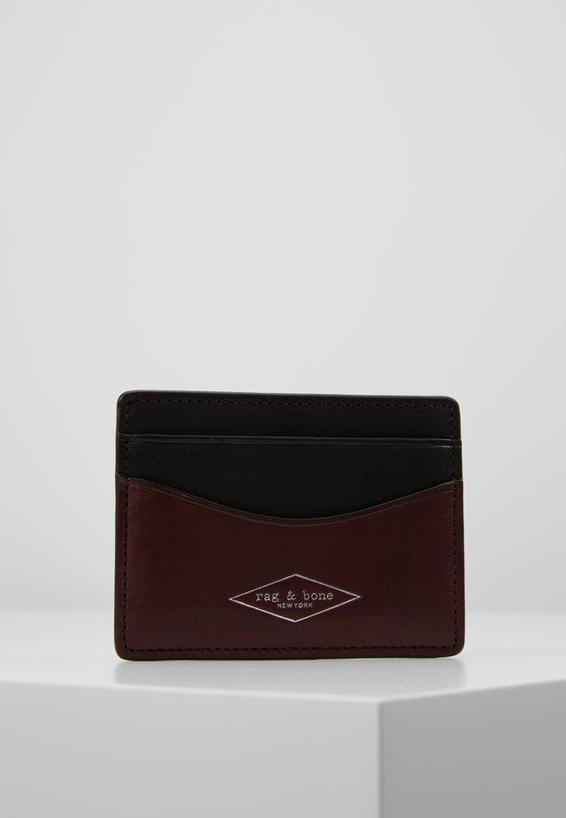 HAMPSHIRE CARD CASE - Käyntikorttikotelo - chanti