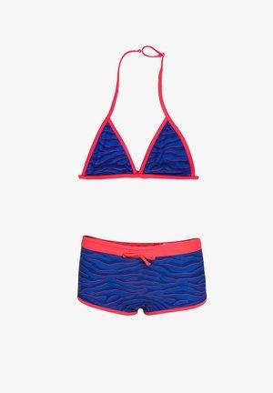 WE FASHION MEISJES TRIANGELBIKINI - Bikini - blue