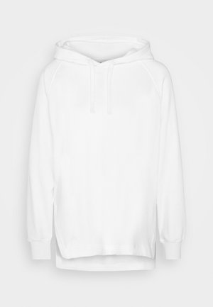 SIDE VENT OVERSIZED HOODIE - Hoodie - optical white