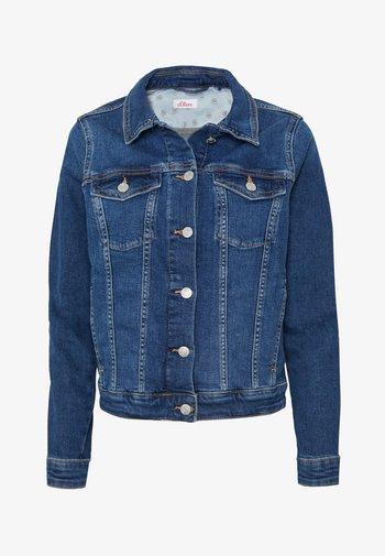 LANGARM - Denim jacket - blue denim