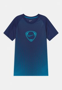 Nike Performance - ACADEMY UNISEX - Print T-shirt - blue void/imperial blue - 0