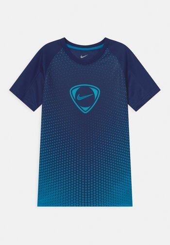 ACADEMY UNISEX - T-shirt print - blue void/imperial blue
