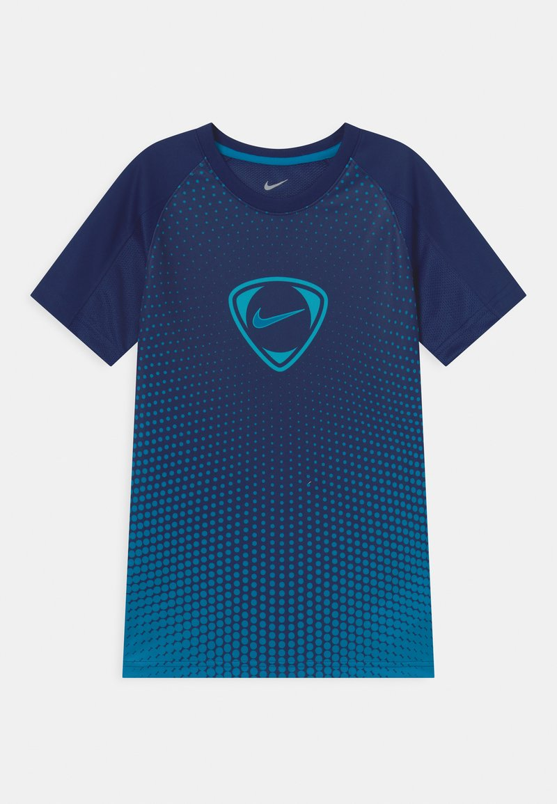 Nike Performance - ACADEMY UNISEX - Print T-shirt - blue void/imperial blue