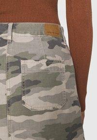 American Eagle - ALINE SKIRT - Mini skirt - olive - 4