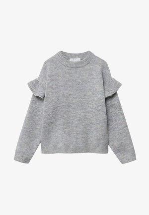 TRUFA - Trui - mottled grey