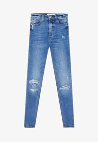 Stradivarius - Jeans Skinny Fit - light blue - 4