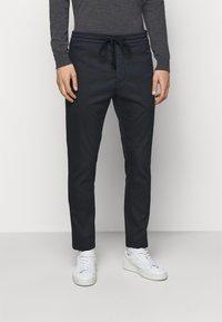 Dondup - PANATLONE DOM - Trousers - dark blue - 0
