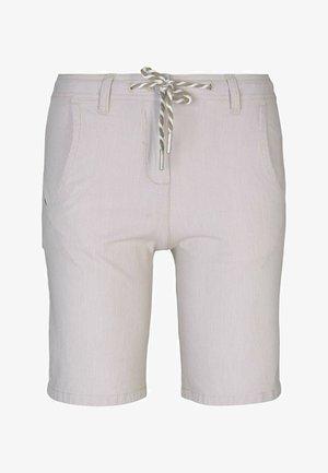 Shorts - beige thin stripe