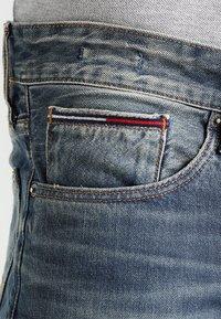 Tommy Jeans - ORIGINAL RYAN PEB - Džíny Straight Fit - penrose blue - 3
