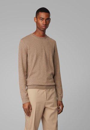 FABELLO - Pullover - dark brown