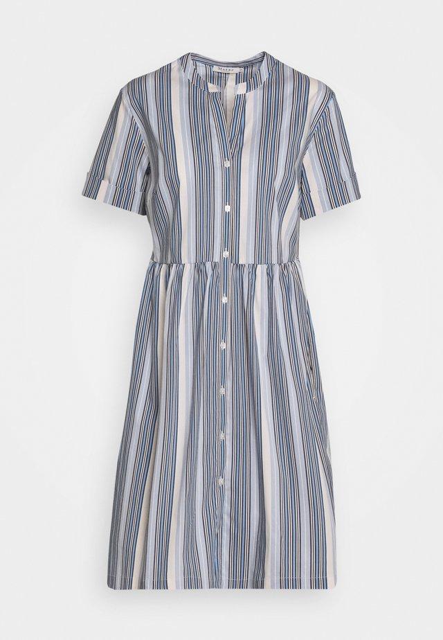 Košilové šaty - marine blue