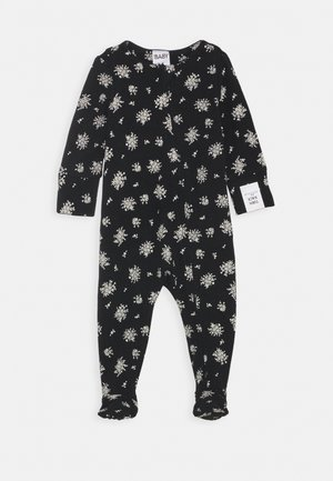 THE LONG SLEEVE ZIP  - Sleep suit - black/olivia
