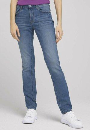 Slim fit jeans - clean light stone blue denim