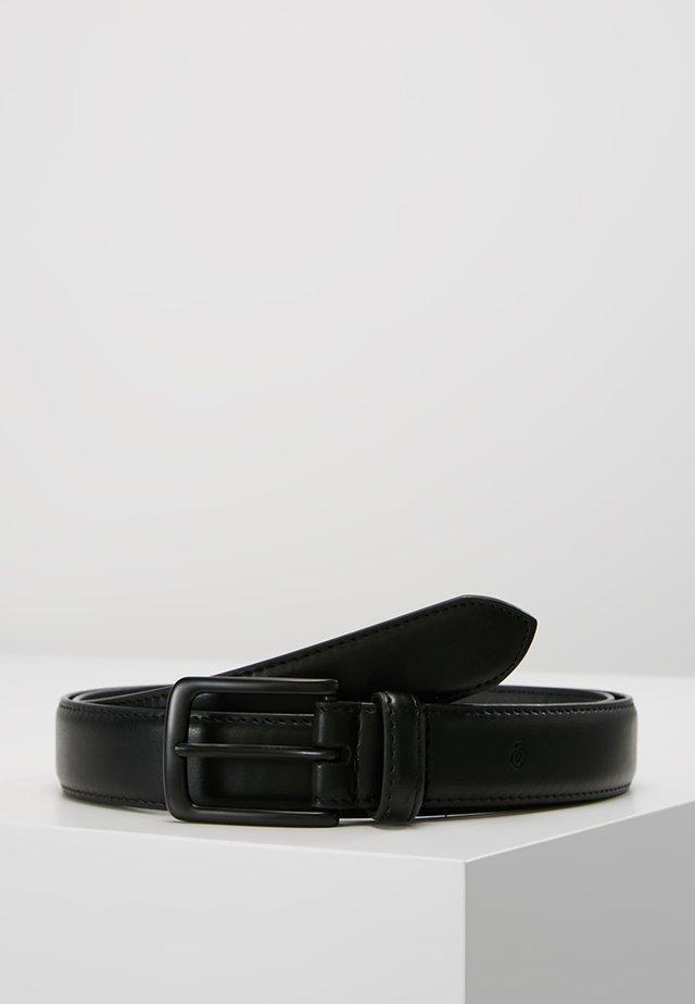VEGAN BELT - Formální pásek - black