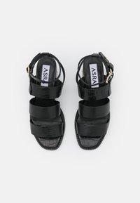 ASRA - JUSTINE - Sandals - black - 5