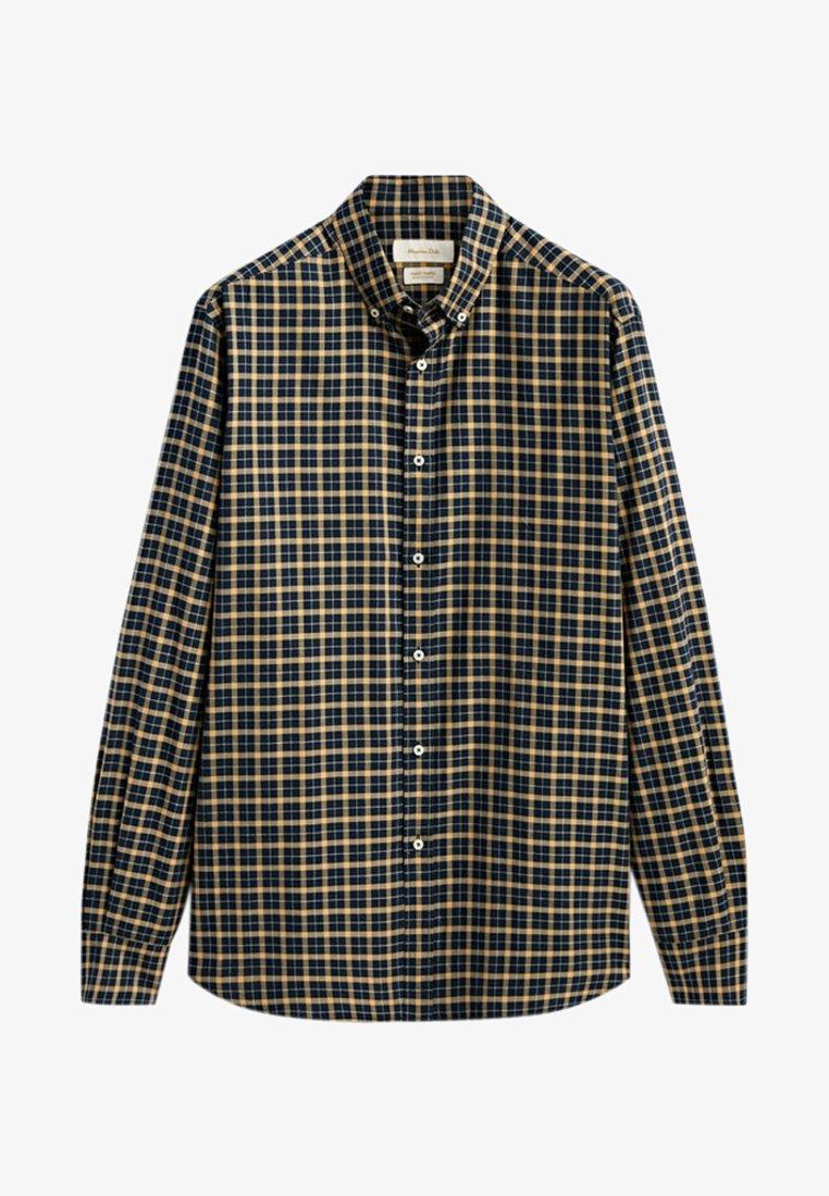 Massimo Dutti - REGULAR FIT - Shirt - beige