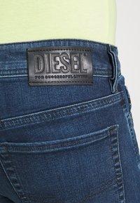 Diesel - SLEENKER - Jeans Skinny Fit - dark blue - 4
