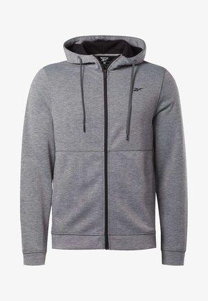 WORKOUT READY HOODIE - Zip-up hoodie - grey