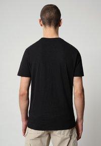 Napapijri - SILEA - T-shirt med print - black - 2