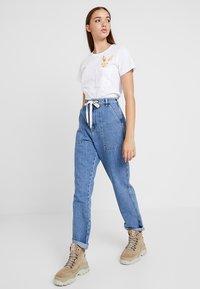 Even&Odd - Print T-shirt - white - 1