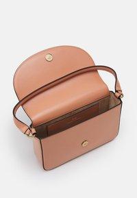 Elisabetta Franchi - BOX BAG - Handbag - rose gold/nero - 2