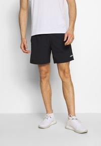 adidas Performance - MIX SHORT - Short de sport - black/white - 0