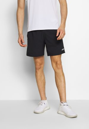 MIX SHORT - Sports shorts - black/white
