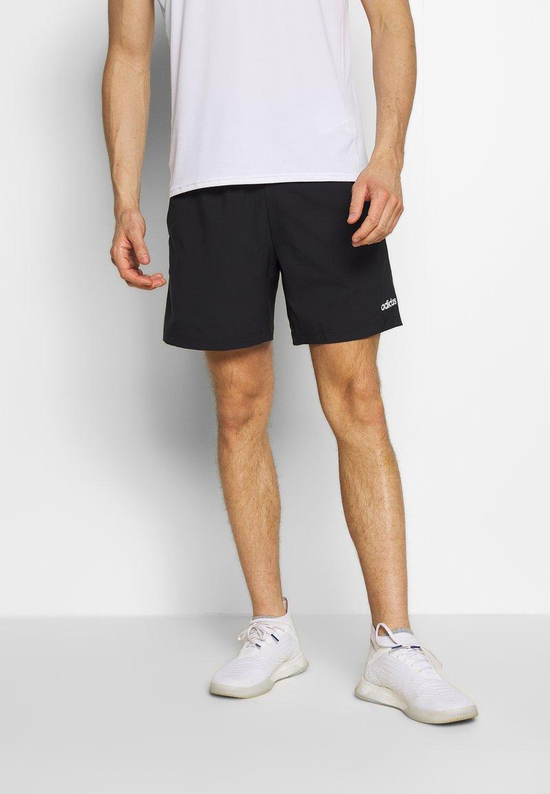 adidas Performance - MIX SHORT - Short de sport - black/white