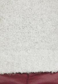 ONLY - ONLOLIVIA O NECK - Jumper - white/black melange - 6