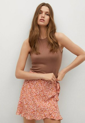 DELFOS - Wrap skirt - rose