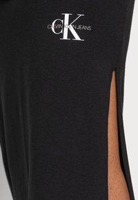 Calvin Klein Jeans - MICRO MONOGRAM KNIT TUBE SKIRT - Pencil skirt -  black - 4