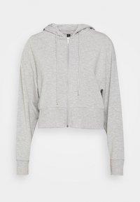 Cotton On Body - THE ULTRA SOFT ZIP THROUGH HOODIE - Sweat à capuche zippé - grey marle - 4
