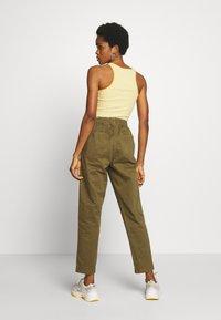 Cotton On - EVIE  - Kalhoty - dark olive - 2