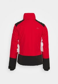Kjus - WOMEN LAINA JACKET - Skijakke - fiery red/black - 2