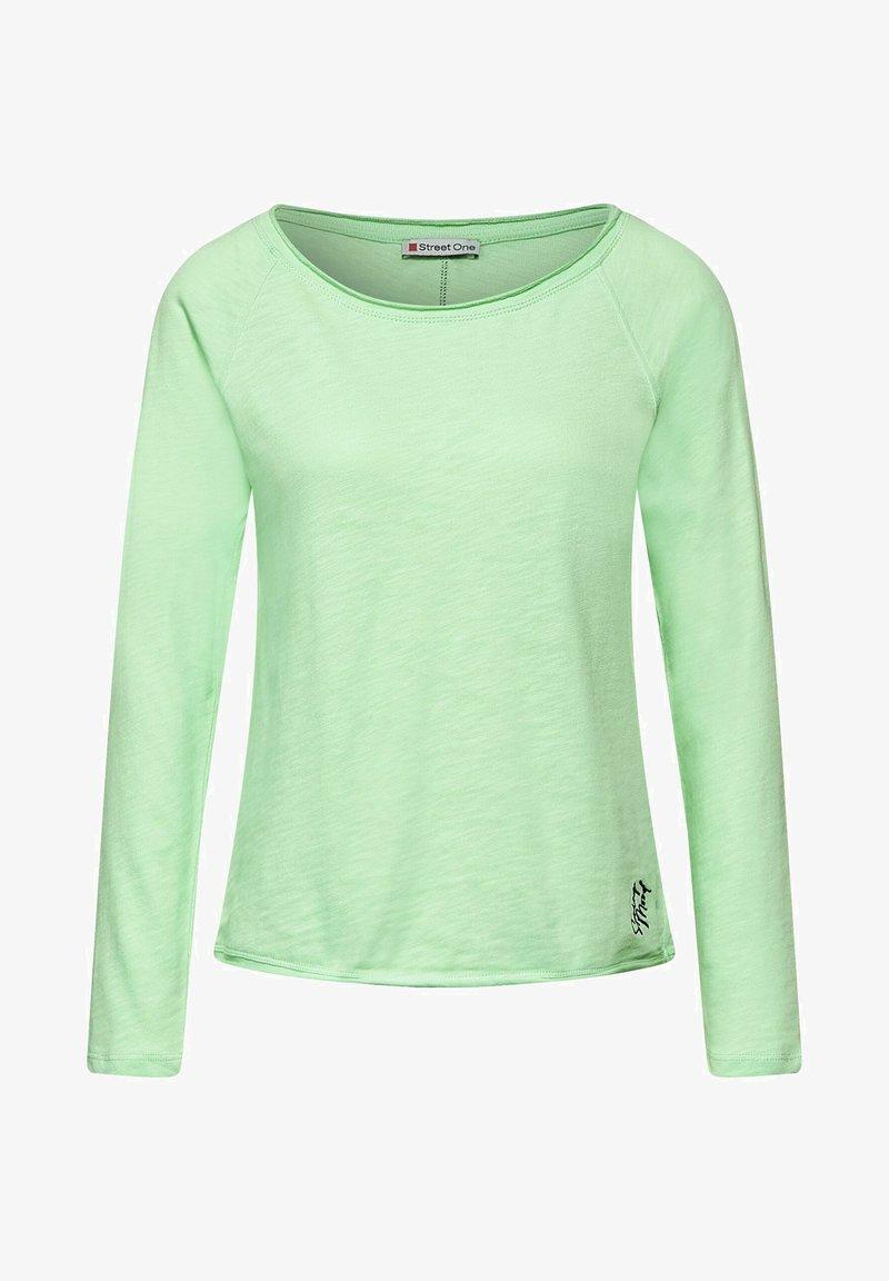 Street One - Long sleeved top - grün