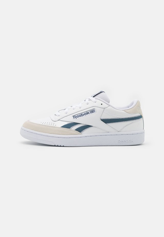 CLUB C REVENGE UNISEX - Trainers - footwear white/blue