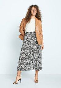 Violeta by Mango - POPART - A-line skirt - schwarz - 1