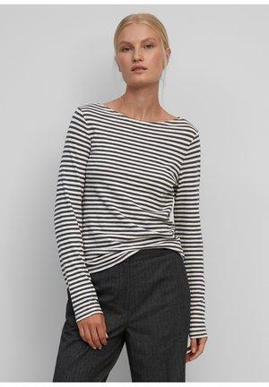 Long sleeved top - multi/grey