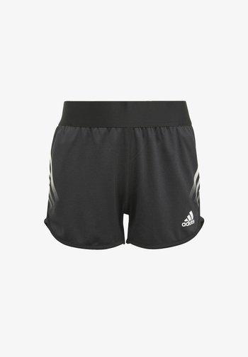 AEROREADY 3-STRIPES SHORTS - Sports shorts - black