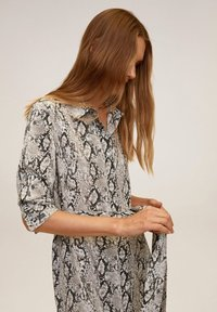 Mango - BASIC - Shirt dress - grau - 3