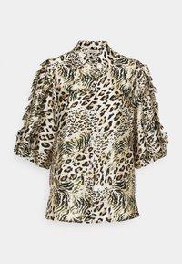 Stella Nova - Button-down blouse - beige/brown/black - 0