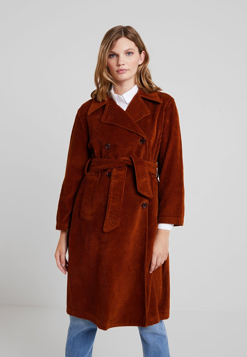 LOIS Jeans - BONNIE - Trenchcoat - bitter choco