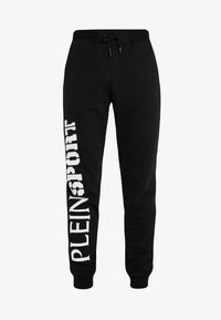 Plein Sport - JOGGING TROUSERS STATEMENT - Pantaloni sportivi - black - 6