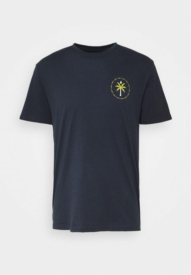 SERENIC STONE - T-Shirt print - navy