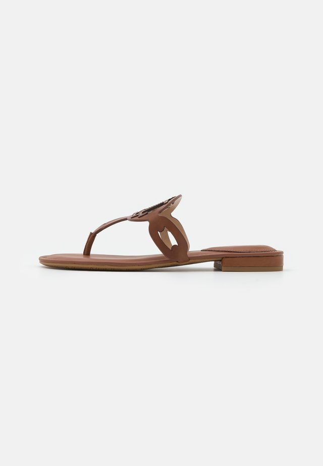AUDRIE - Teensandalen - deep saddle tan