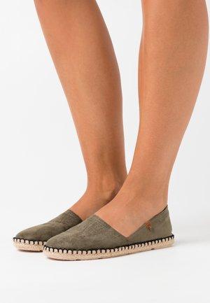 Espadrilles - kaki